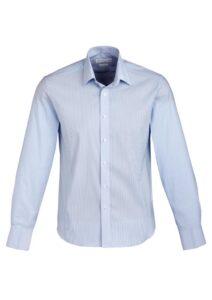 Fashion Biz Berlin Mens Business Shirt Blue