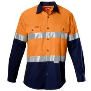 hi vis shirt with tape